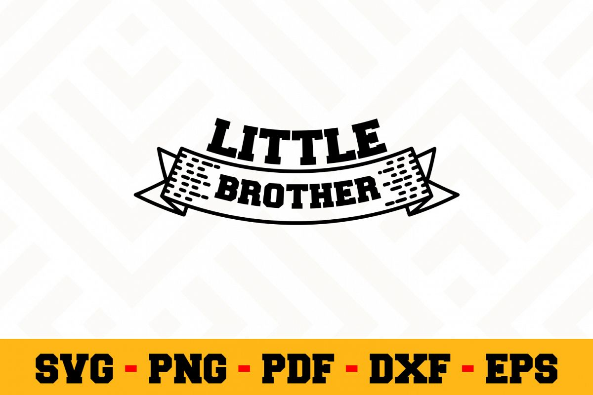 Brother SVG Design n512 | Brother SVG Cut File example image 1
