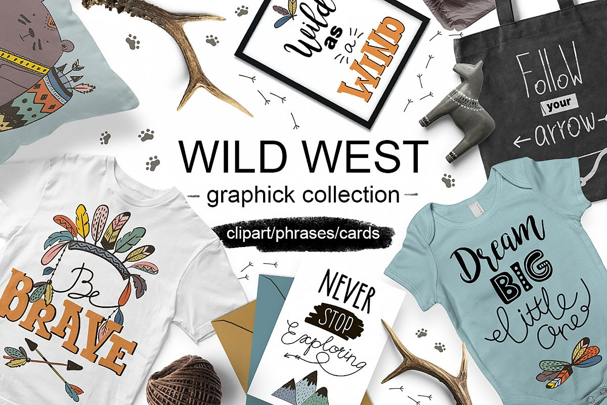 Wild West graphic collection example image 1