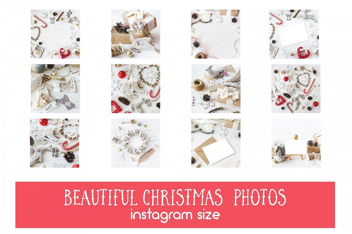 75% OFF 12 Vintagy Christmas Photos example image 1