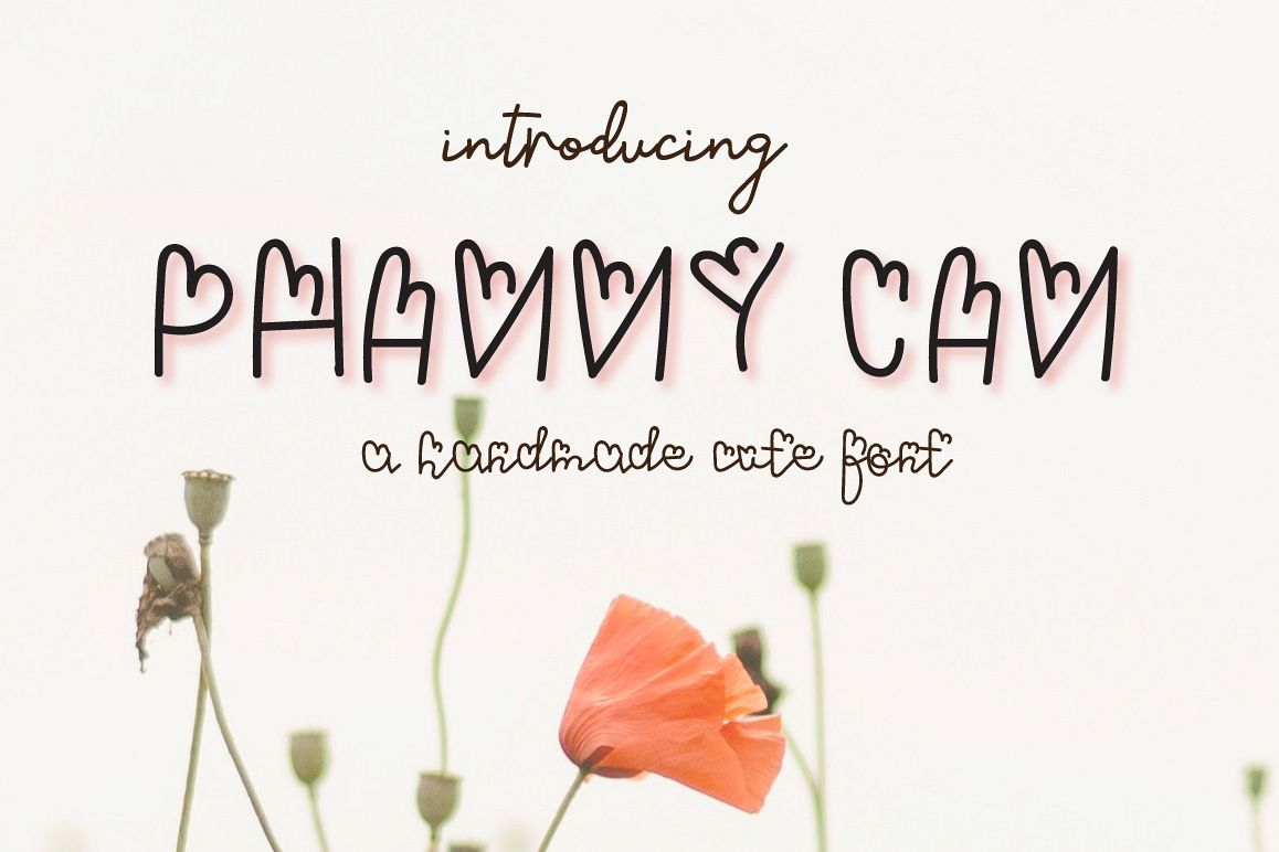 Phanny Can- A cute font example image 1