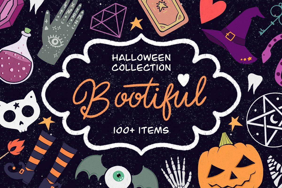 Bootiful - halloween collection example image 1