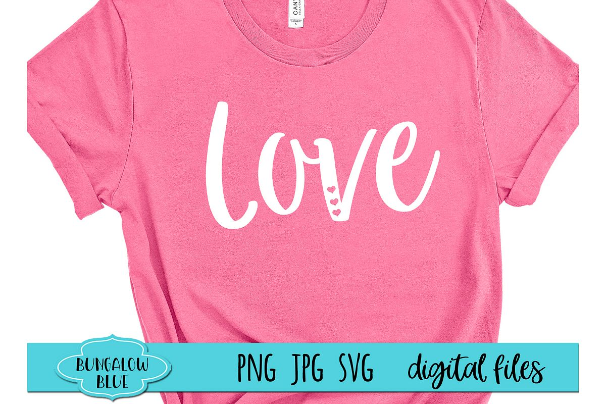 Love Valentine Digital Download SVG PNG JPG example image 1