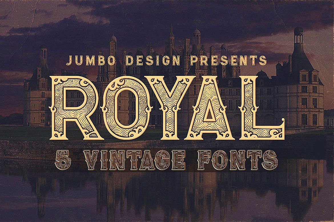 Royal - Vintage Style Font example image 1