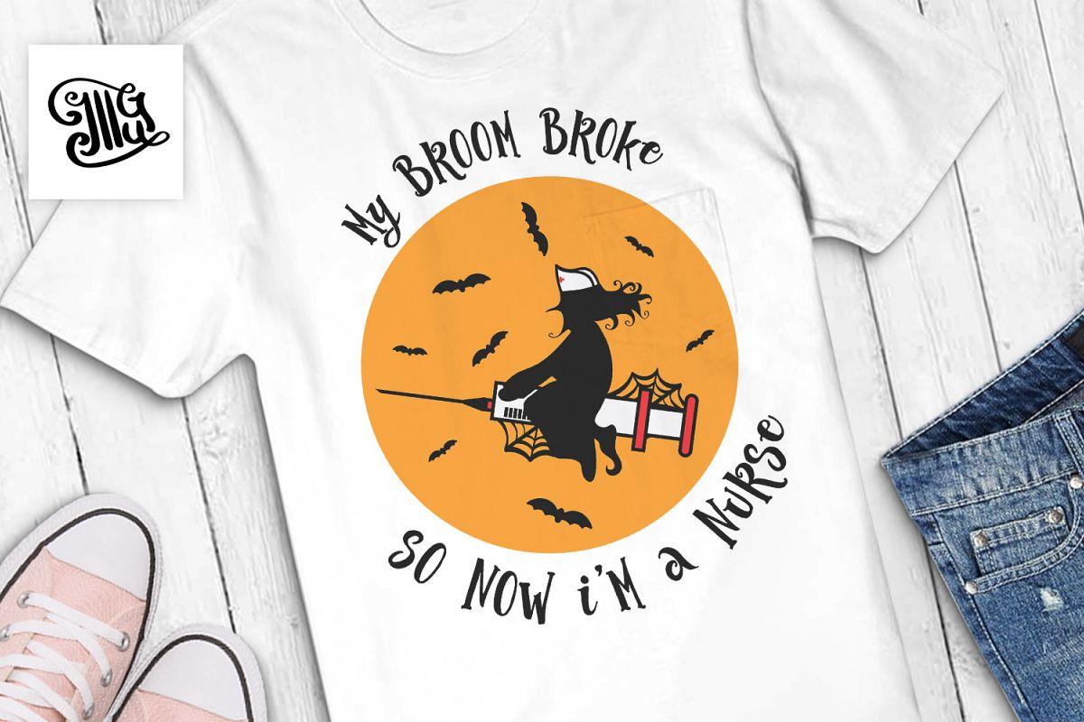 My broom broke so now I'm a nurse example image 1