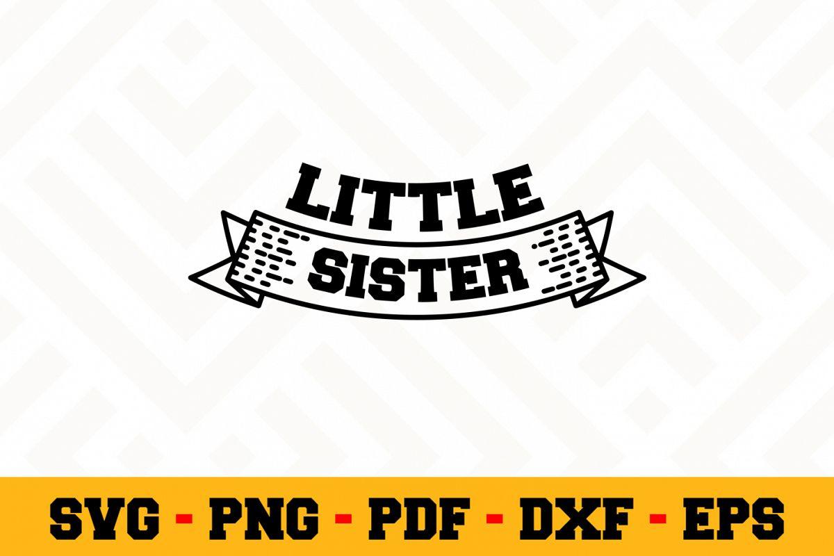Sister SVG Design n519 | Sister SVG Cut File example image 1