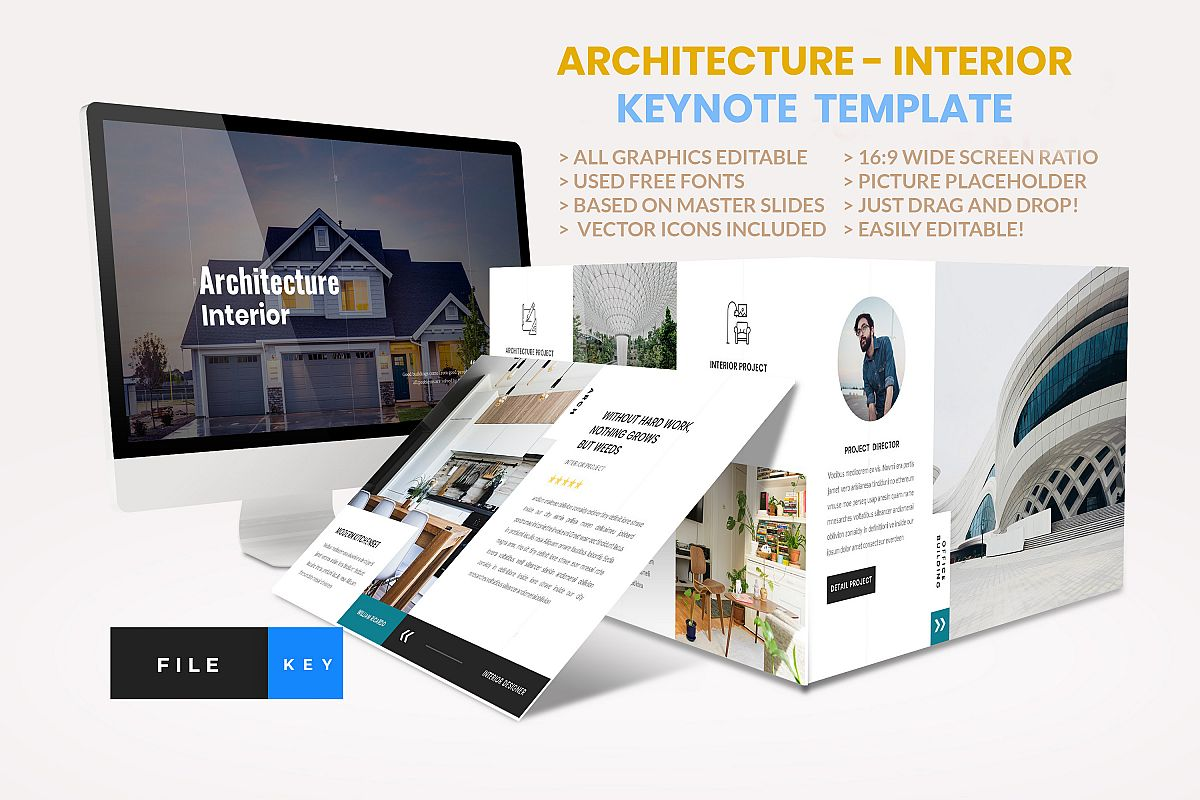 Architecture - Interior keynote Template example image 1