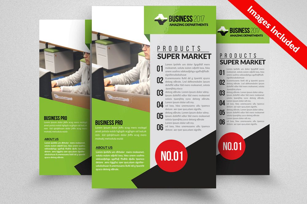 Advertising Company Flyer Templates