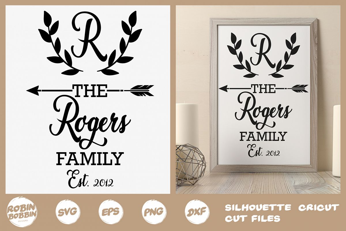 Family SVG, Newlyweds SVG, Family Poster SVG, Printable File example image 1