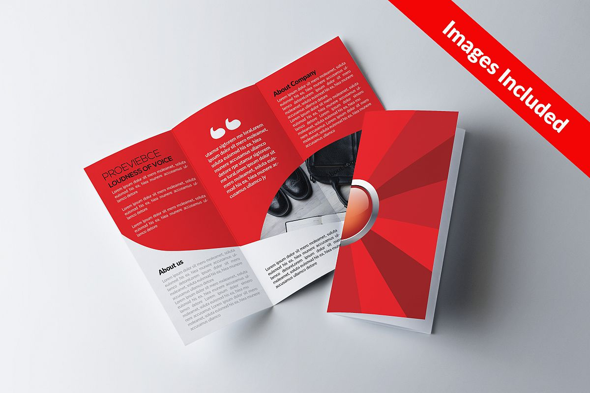Corporate Trifolds Brochures example image 1