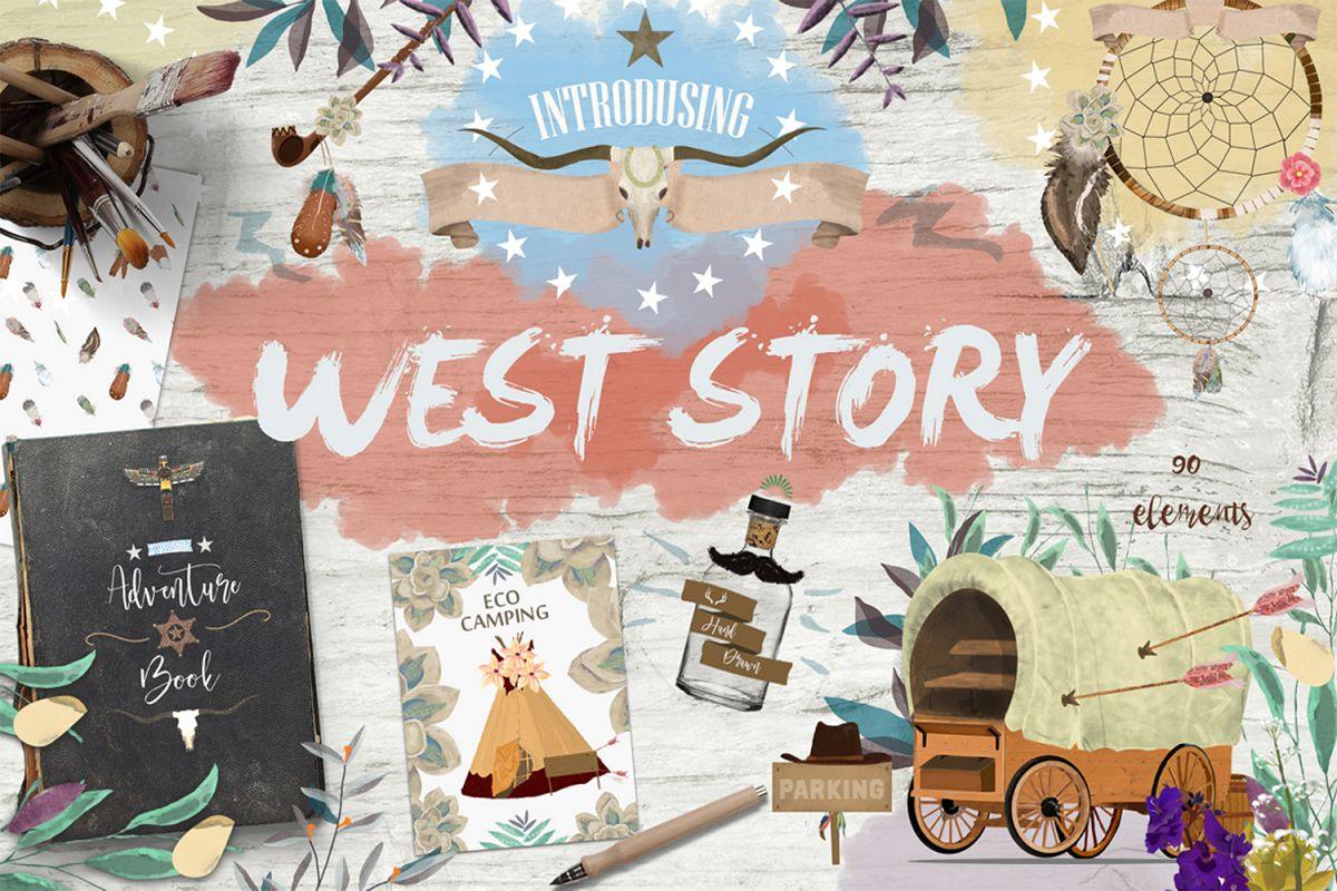 Wild West. Western Adventure example image 1