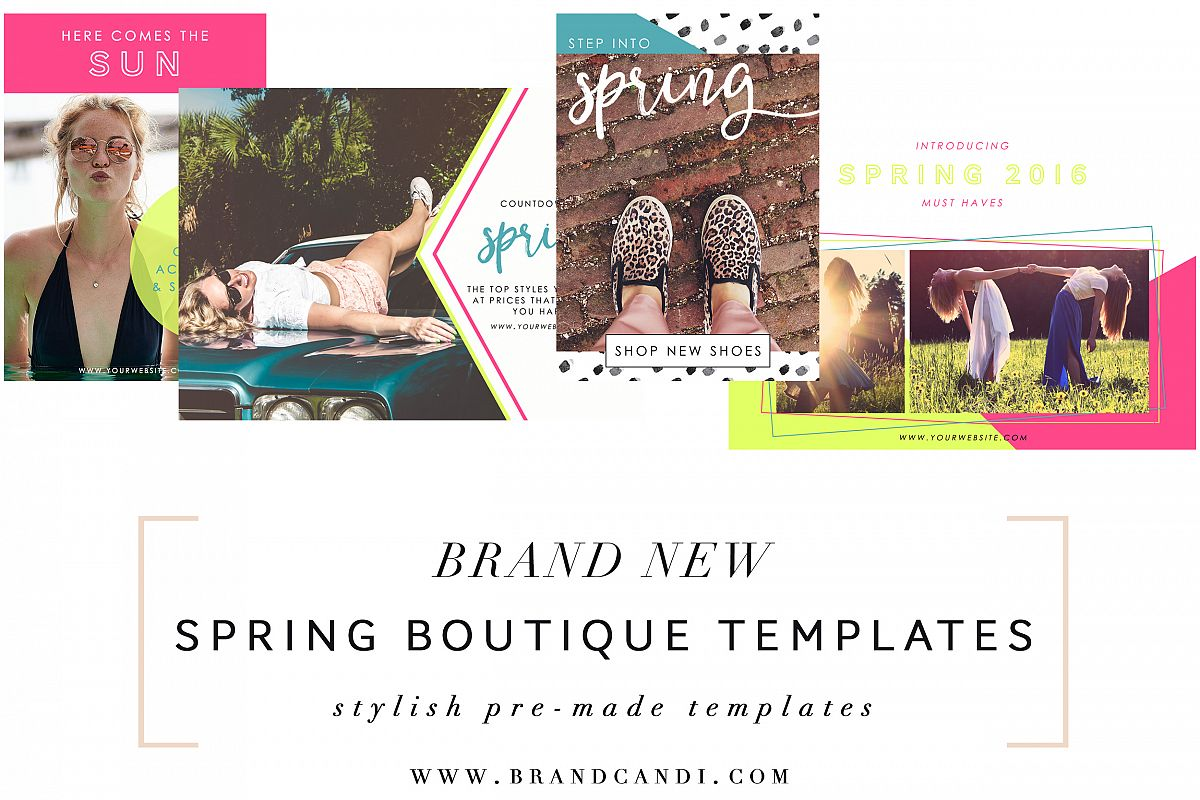 Boutique Marketing Templates example image 1