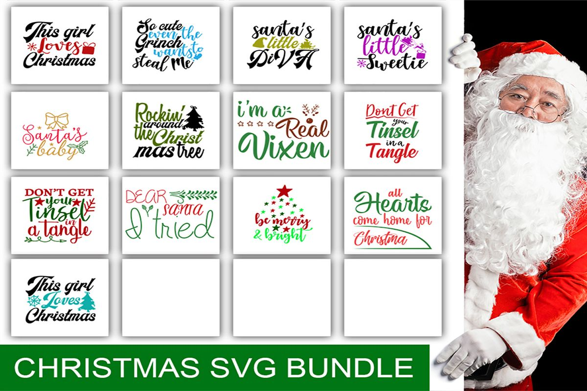 13 Christmas svg Bundle pack_1 example image 1