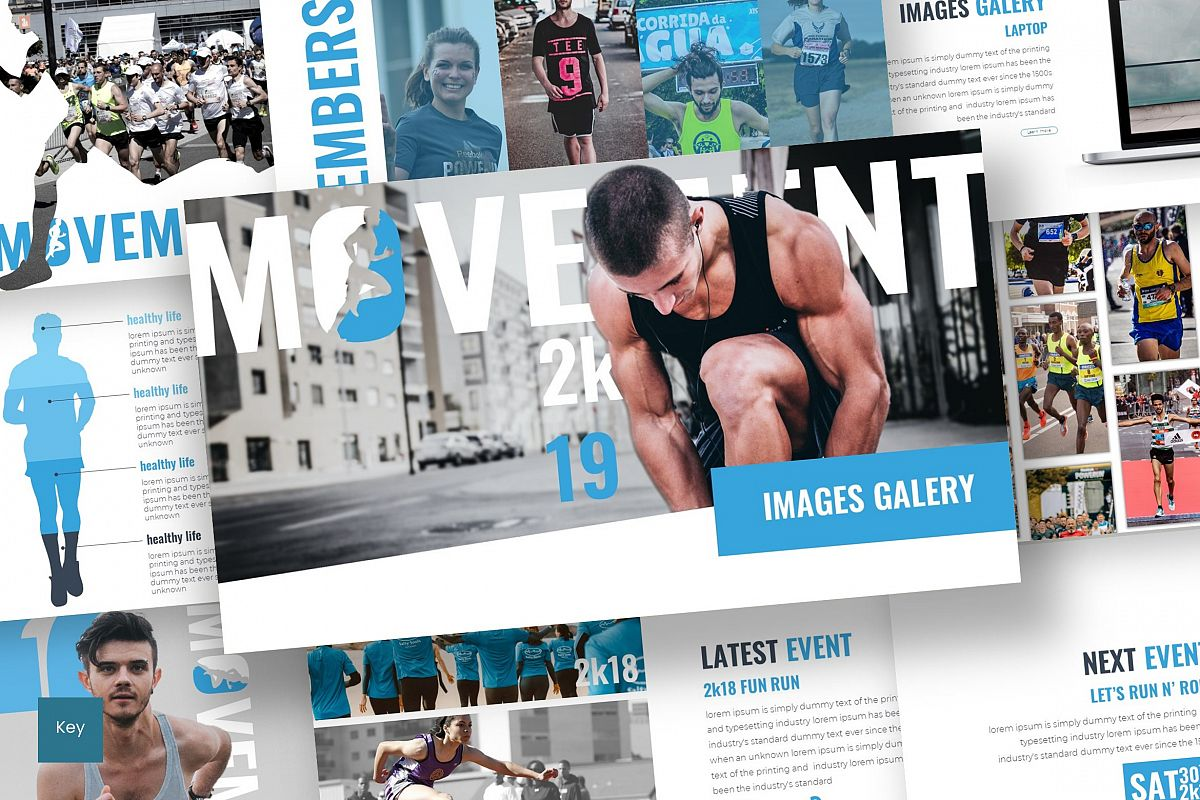 Movement - Keynote Template example image 1