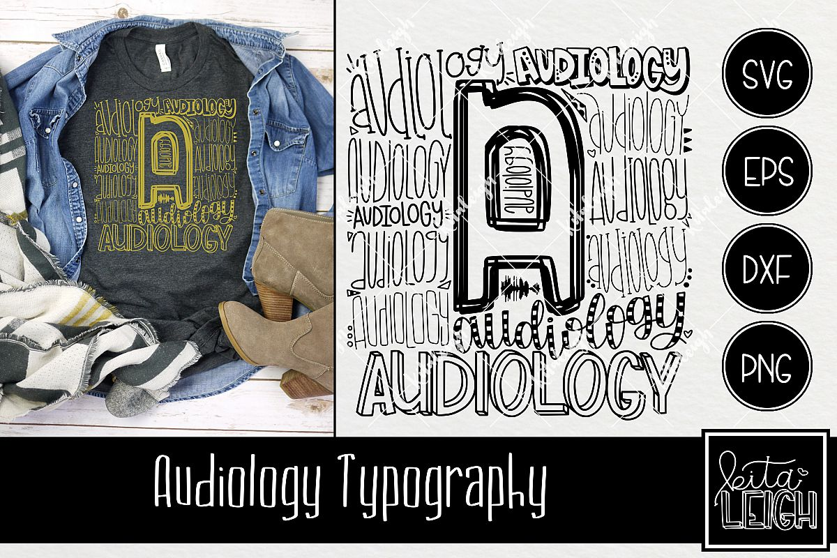 Audiology Typography example image 1