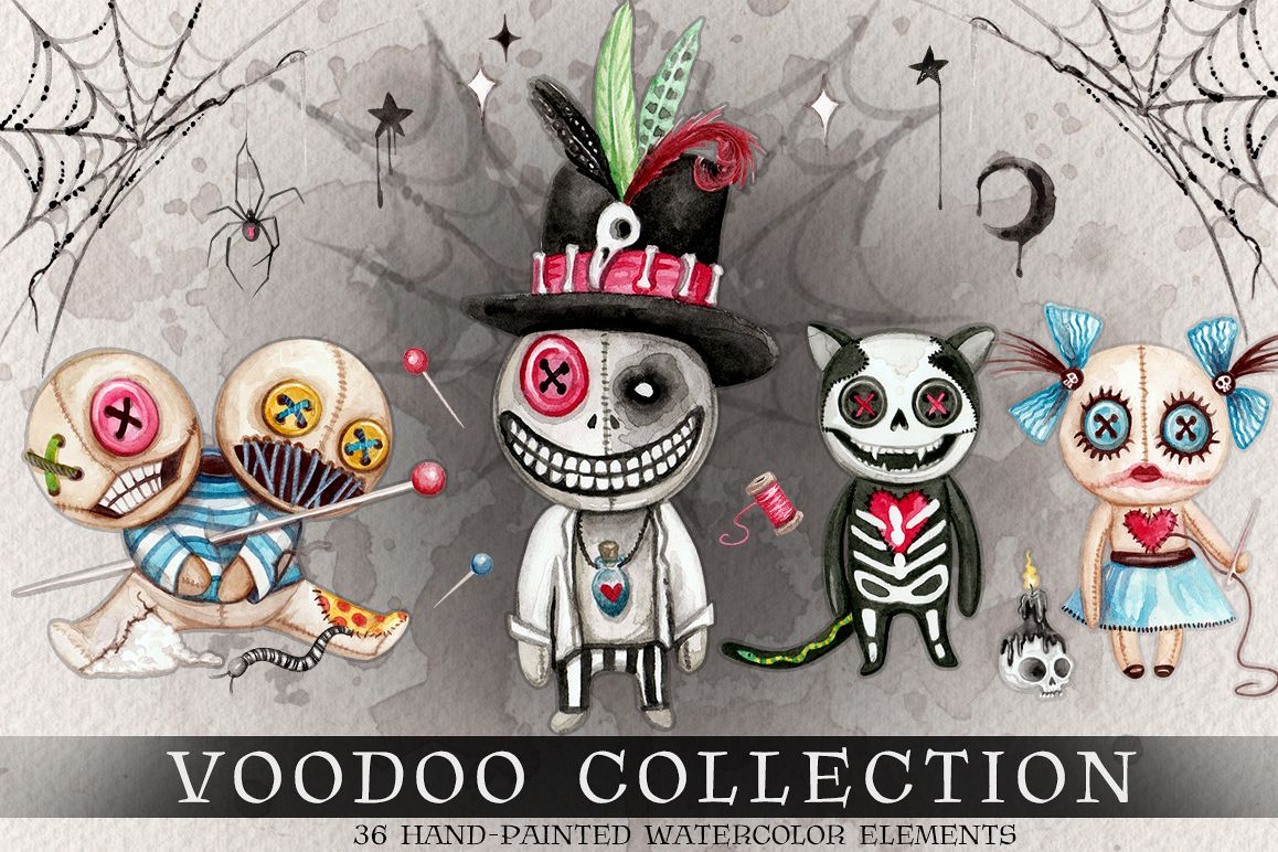 Watercolor Voodoo Collection example image 1