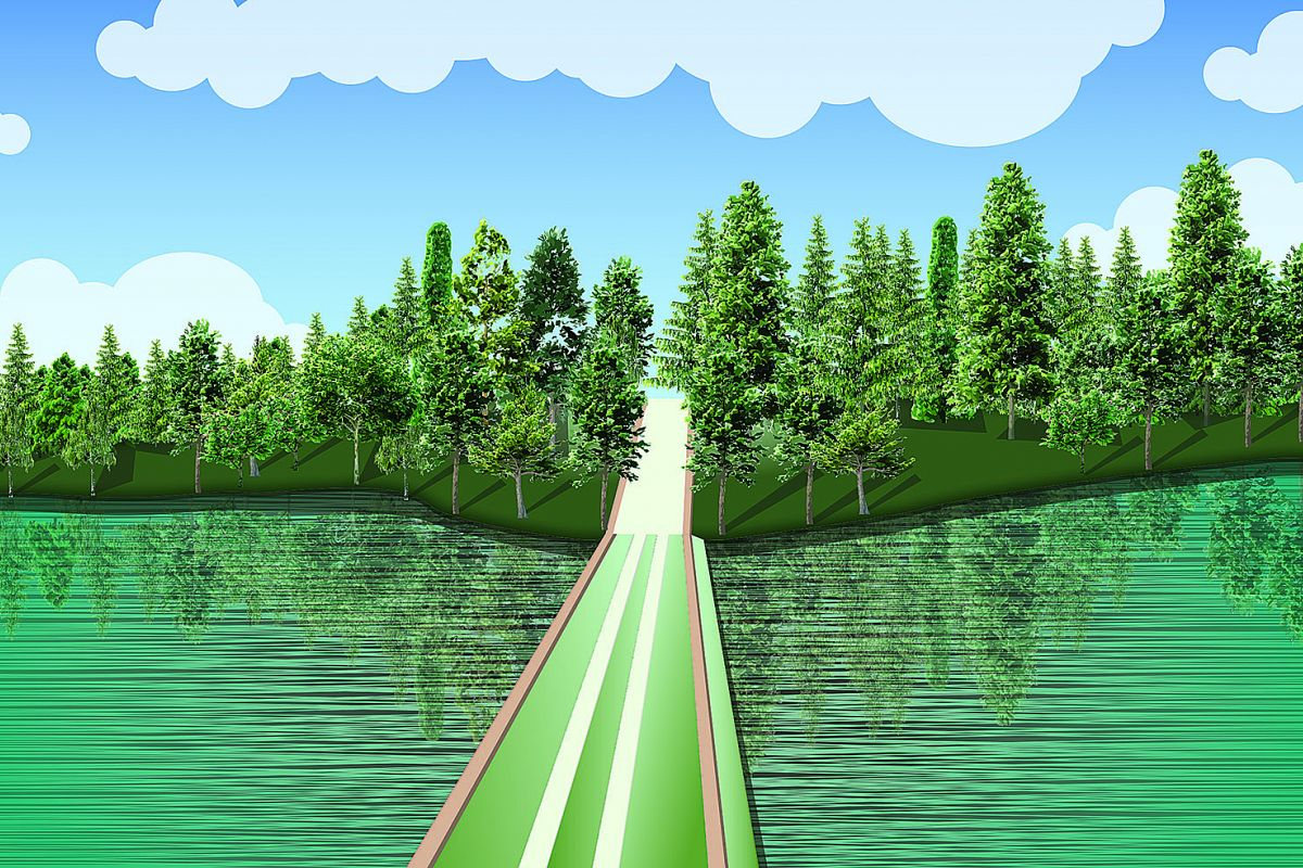 Landscape Vector Illustration example image 1