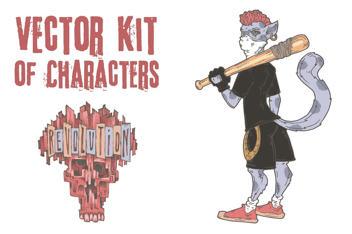 Vector Kit of Characters example image 1