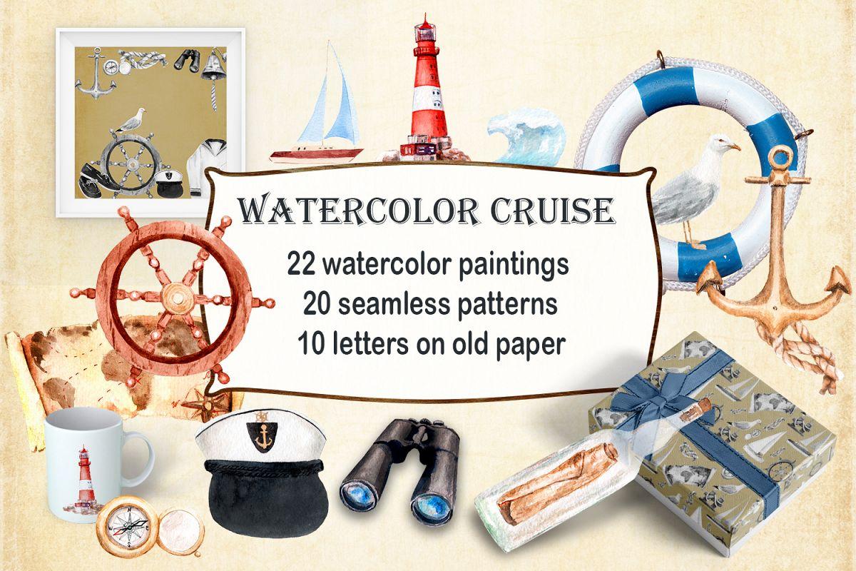 Watercolor Cruise, Yakhtin, Voyage example image 1