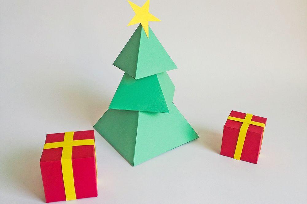 DIY Christmas Tree - 3d Papercraft example image 1