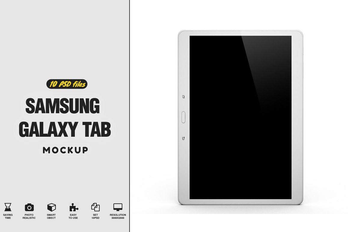 Samsung Galaxy S Tab Mockup example image 1