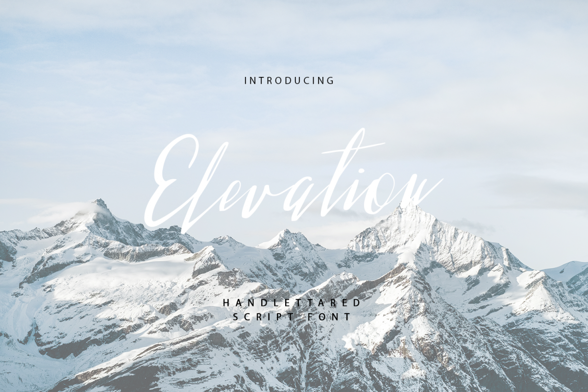 Elevation example image 1