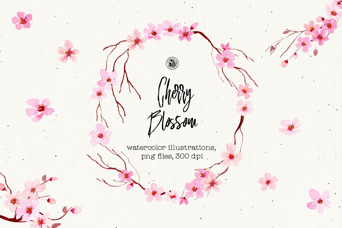Cherry Blossom Flowers example image 1