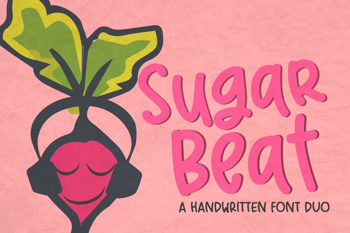 Sugar Beat Handwritten Font example image 1