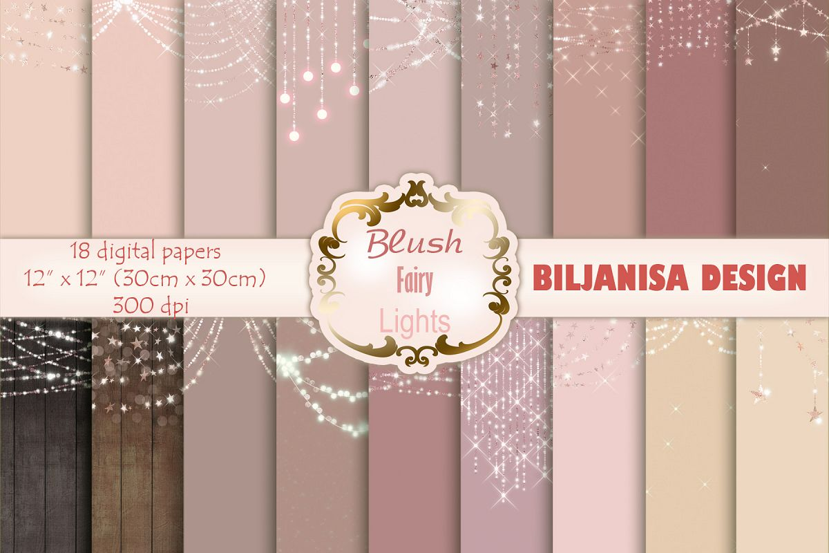 Blush Fairy Lights example image 1