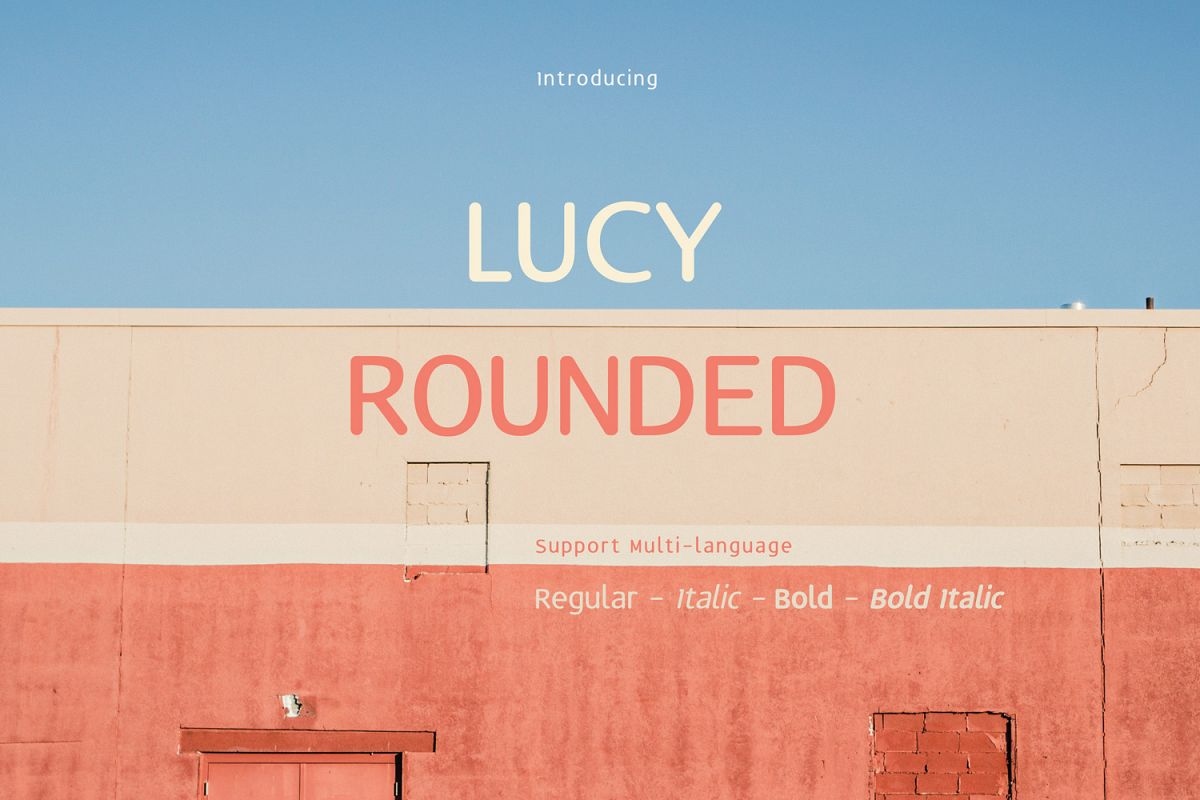 Lucy Rounded example image 1