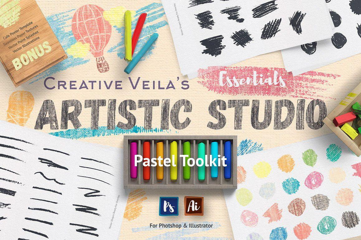 Artistic Studio: Pastel Toolkit example image 1