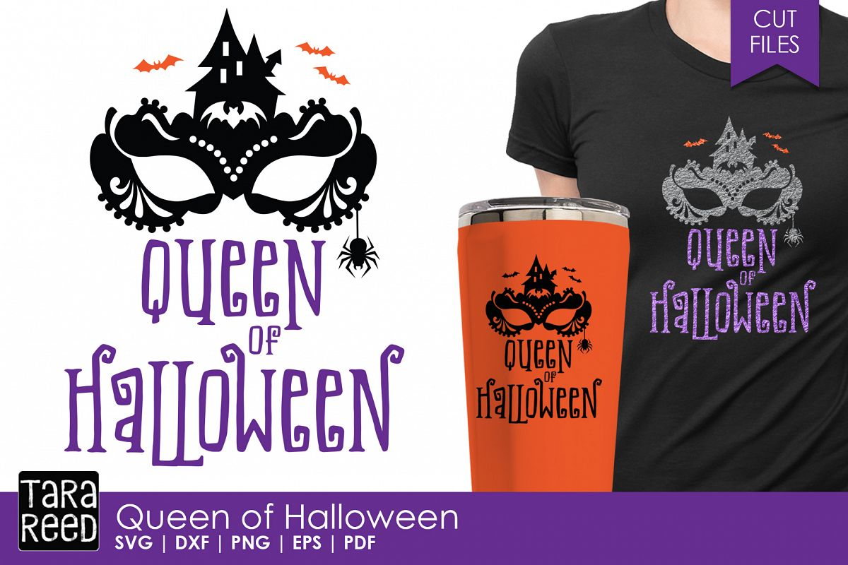 Queen of Halloween - Halloween SVG & Cut Files for Crafters example image 1