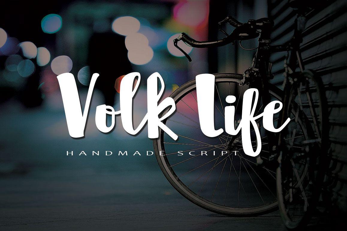 Volk Life Typeface example image 1