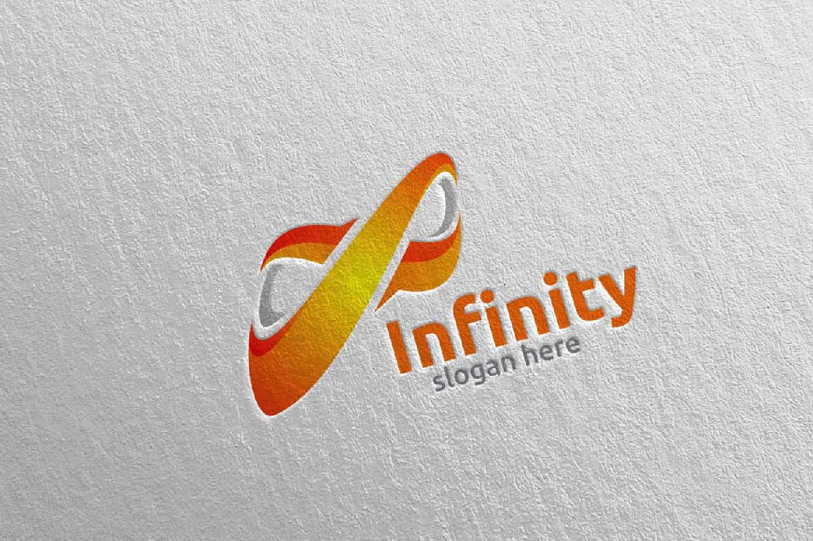 Infinity loop logo Design example image 1