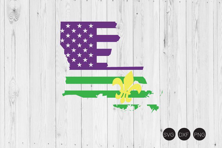 Mardi Gras Louisiana SVG example image 1
