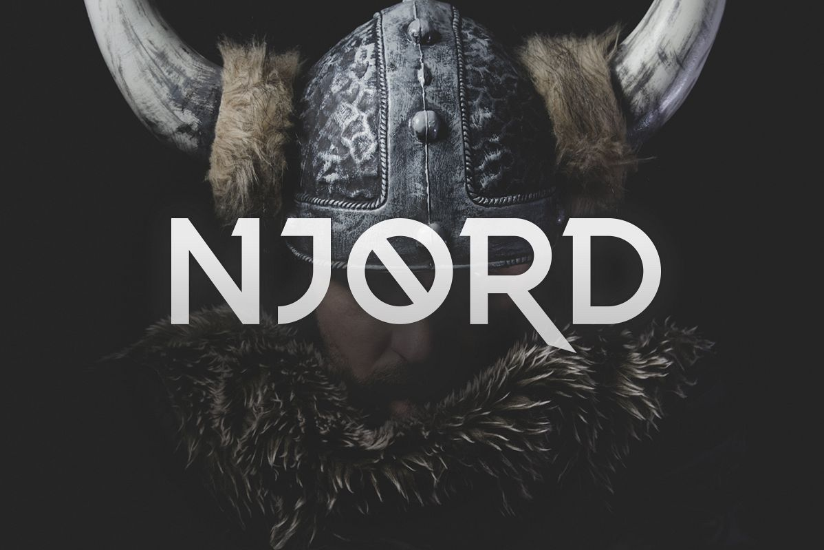 Njord Typeface example image 1
