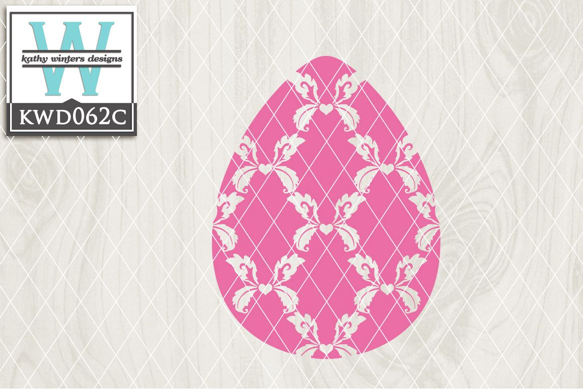 Easter Cutting File KWD062C example image 1