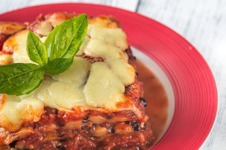 Portion of parmigiana di melanzane example image 1
