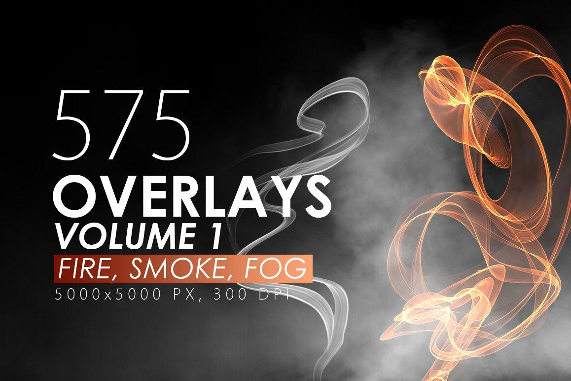575 Fire, Smoke, Fog Overlays example image 1
