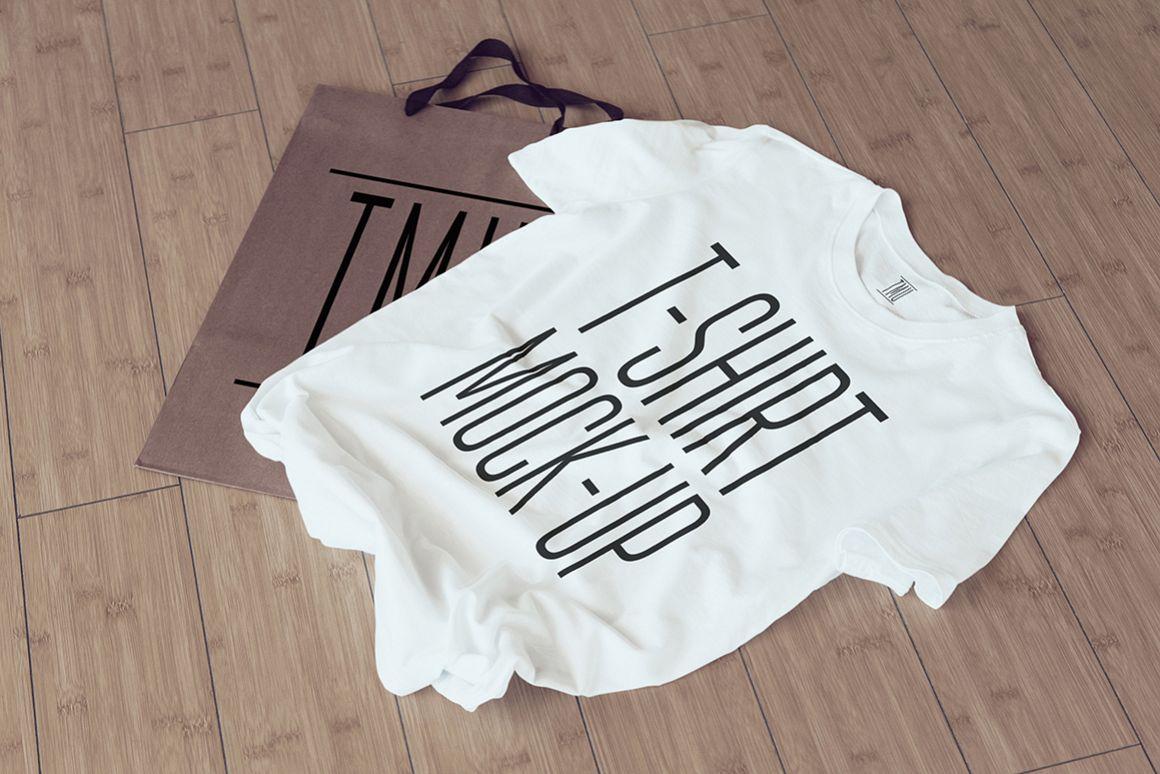 T-Shirt Mock-Up example image 1