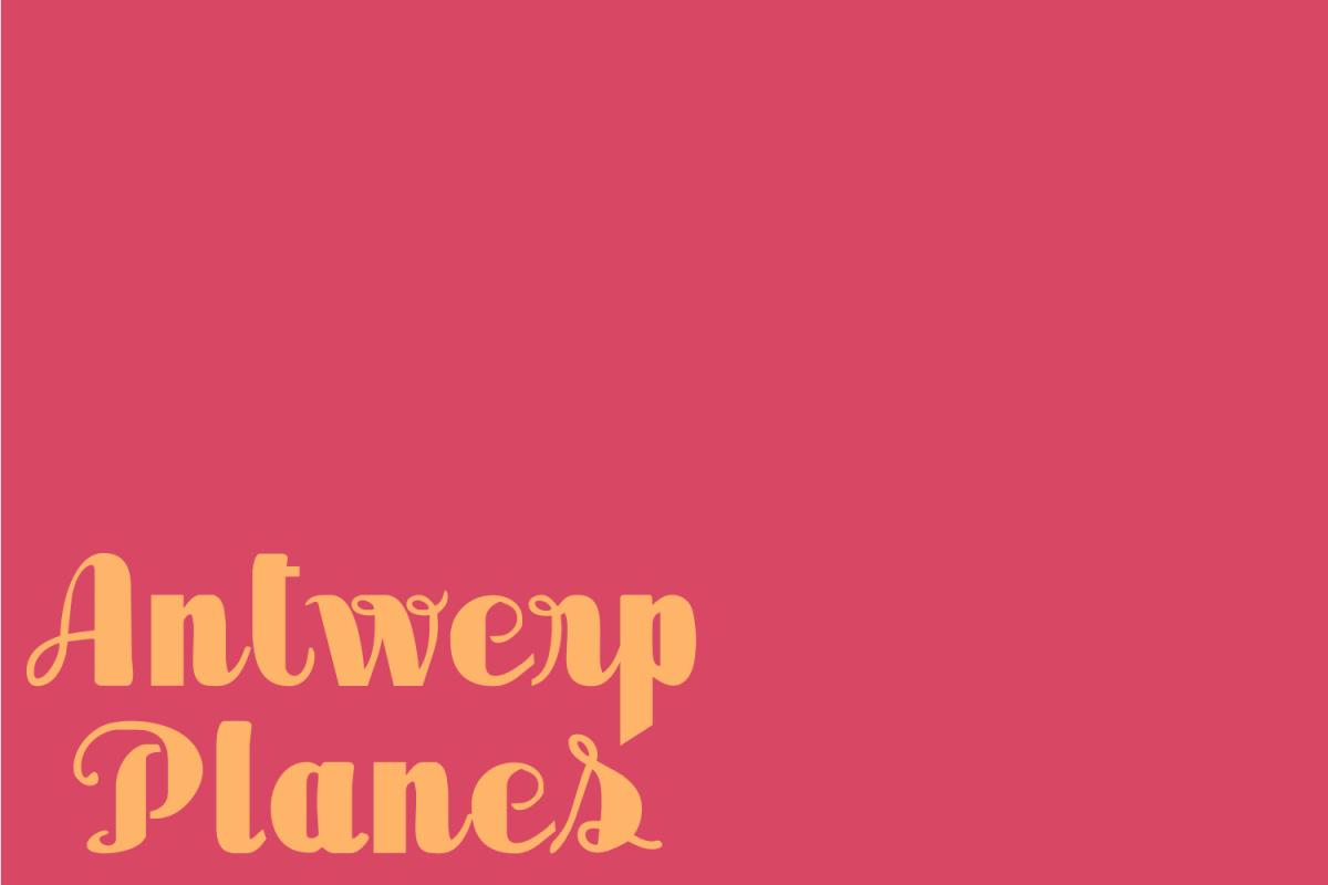 Antwerp Planes example image 1
