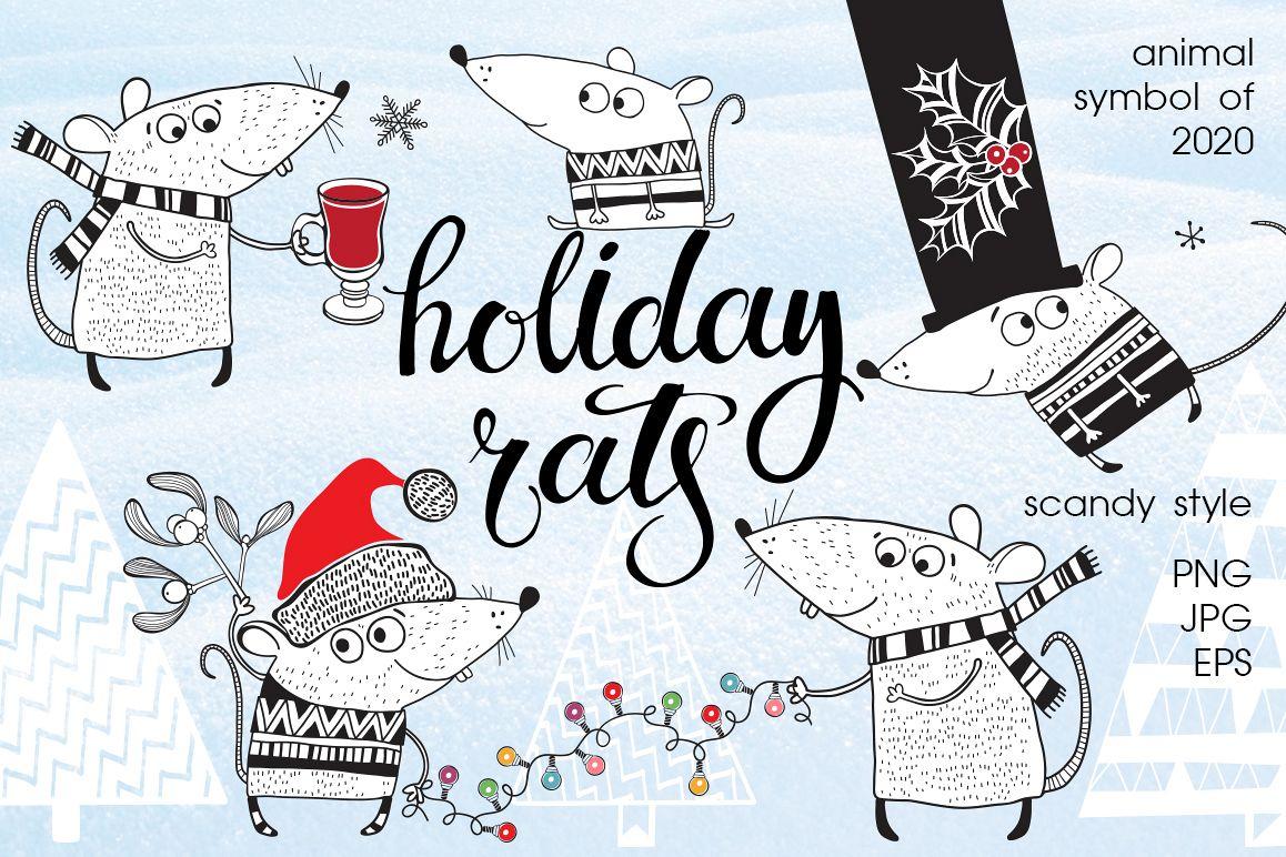 Holiday rats. example image 1