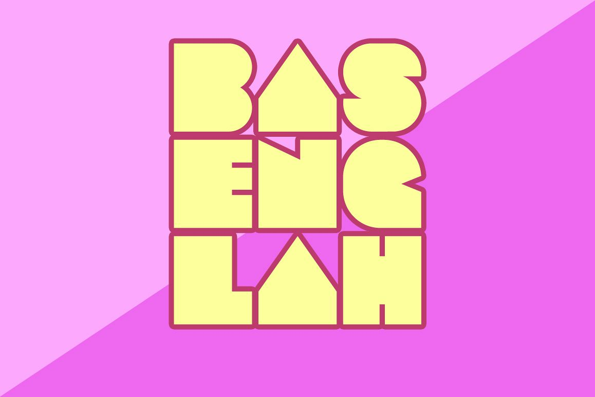 Basenglah Fontpack example image 1