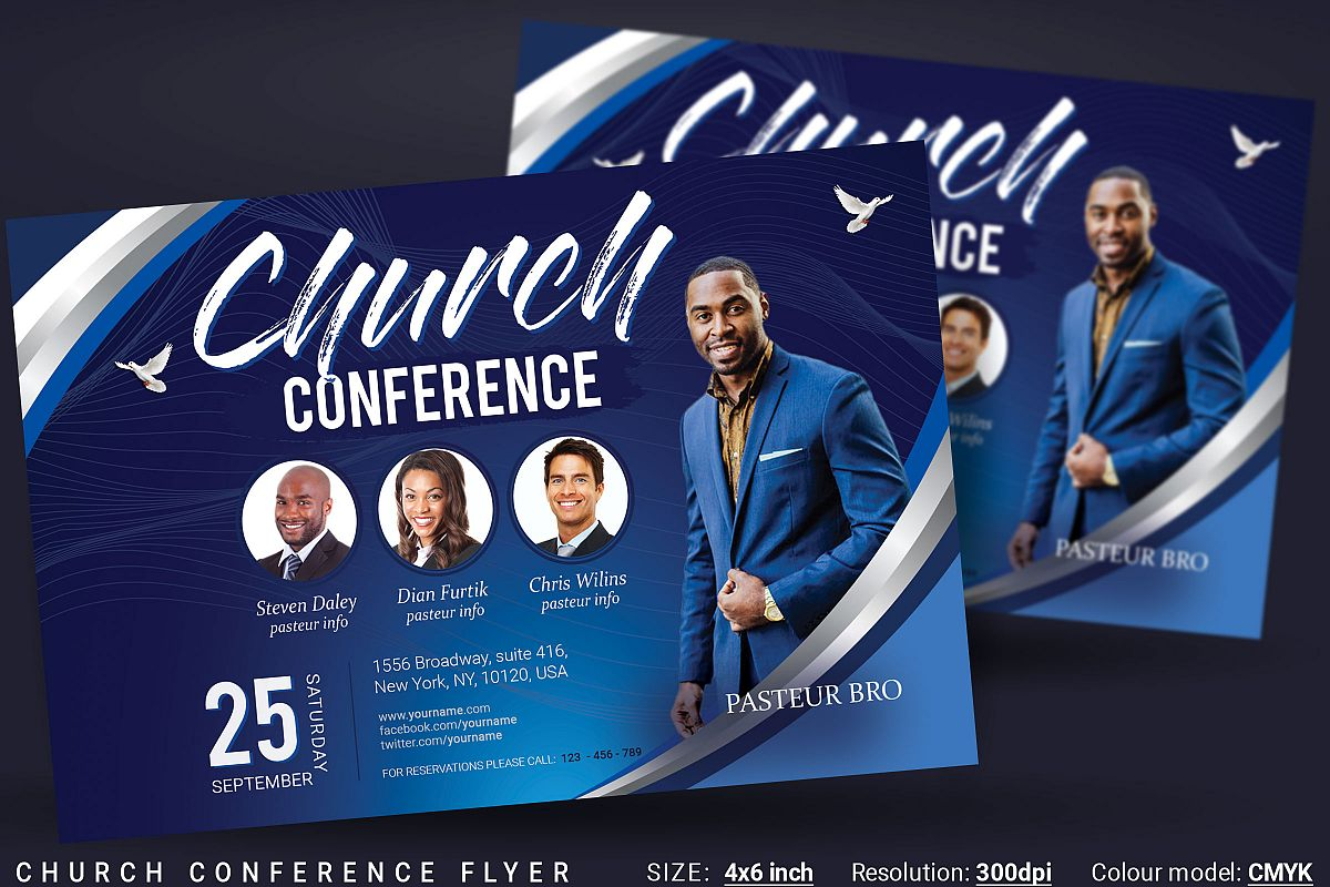 Church Conference Flyer example image 1