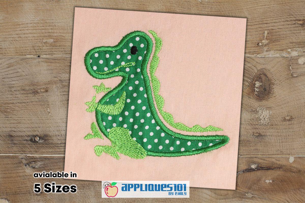 Crocodile Machine Embroidery Applique Design - Crocodiles example image 1