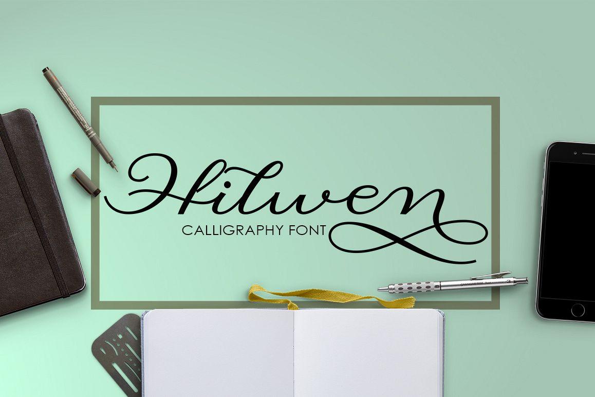 Hilwen Script example image 1