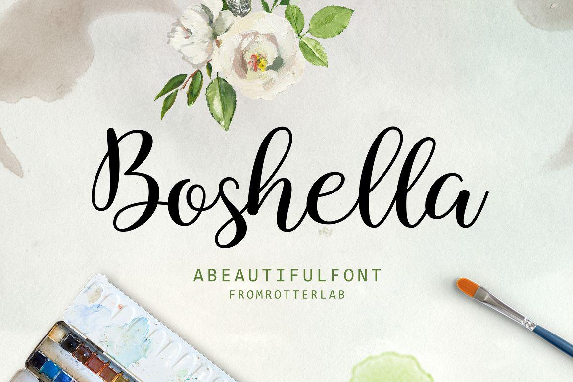 Boshella Script example image 1
