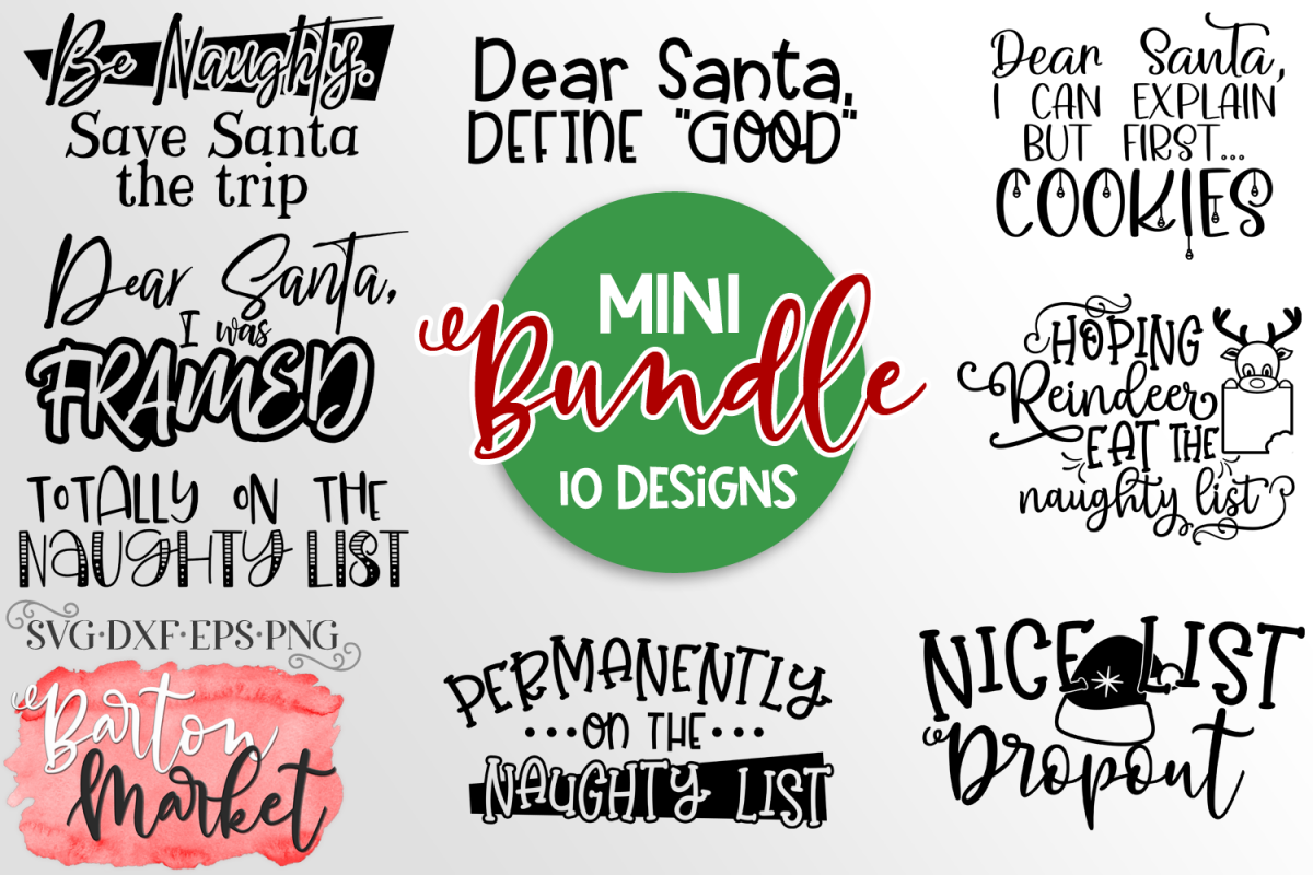 Naughty List Bundle example image 1