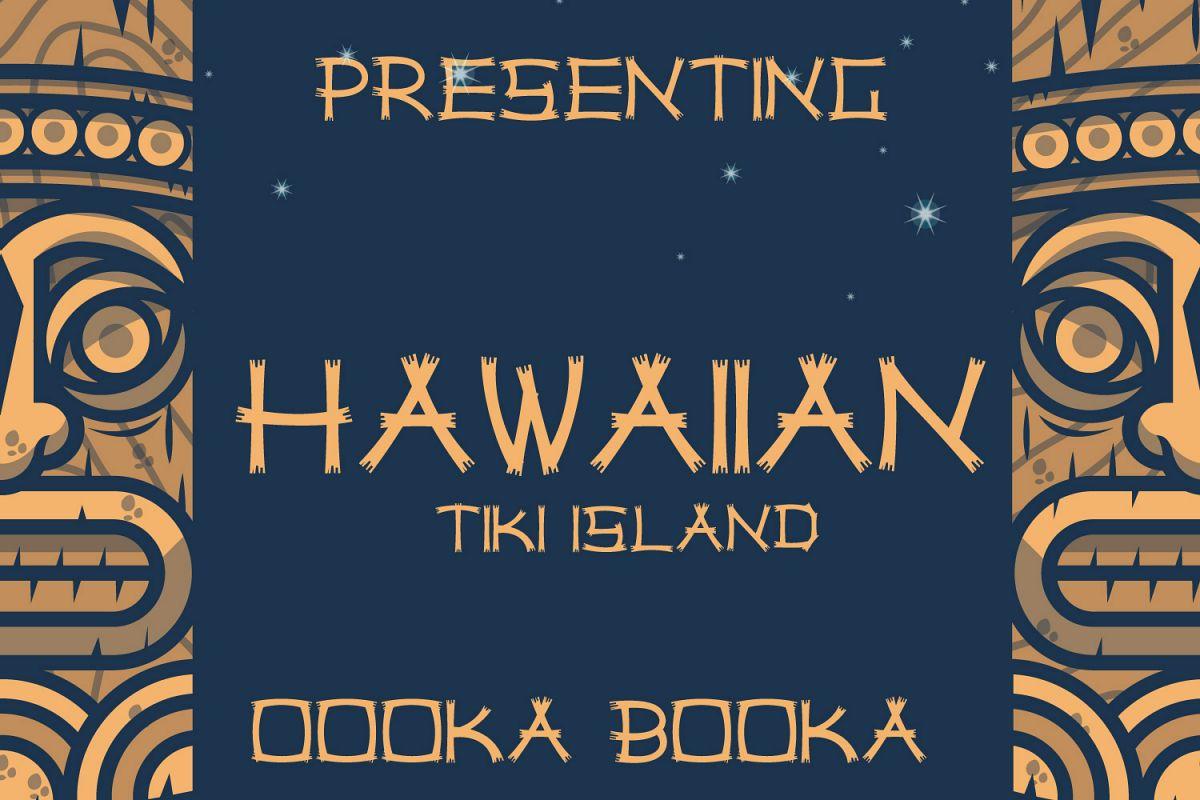Hawaiian Tiki Island Font example image 1