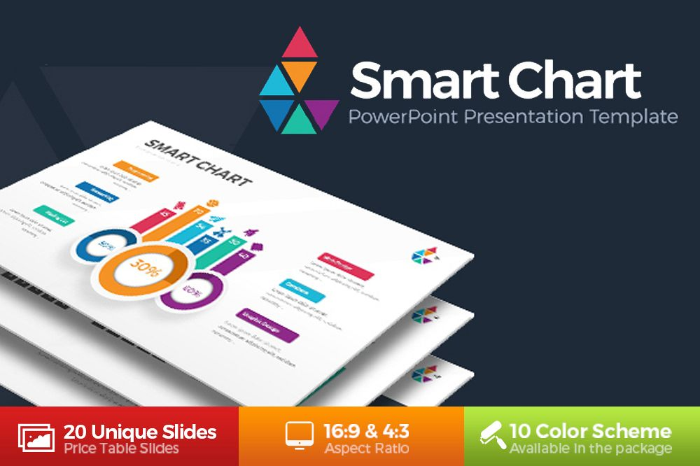 smart chart infographic powerpoint by r design bundles