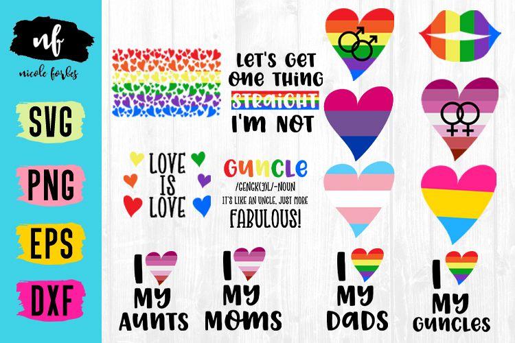 LGBT Pride SVG Bundle example image 1